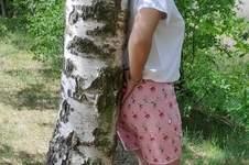 Makerist - Damen-Shorts, auch für Curvy-Damen, Canvas-Stoff - 1