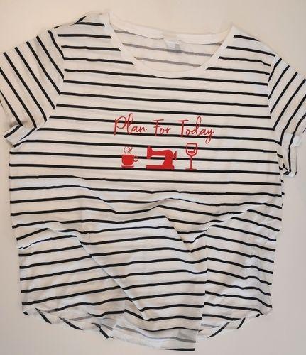 Makerist - Plan for today Plott, Pimp your basic Shirt  - Textilgestaltung - 1