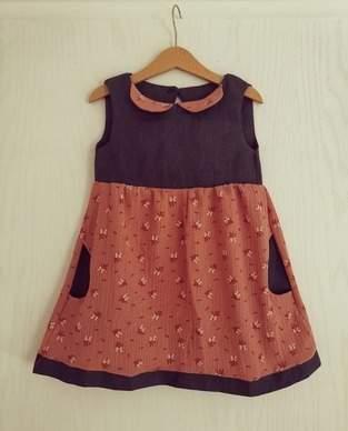 Heiß geliebtes Kleid mit Taschen
