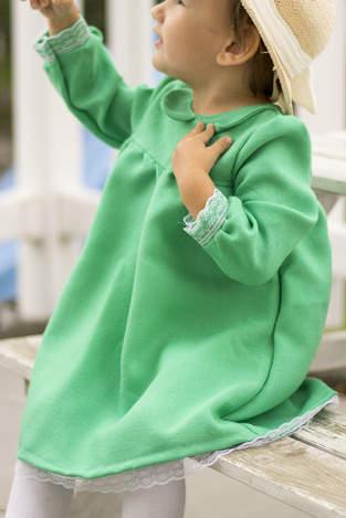 Kleid Peppa mit Bubikragen