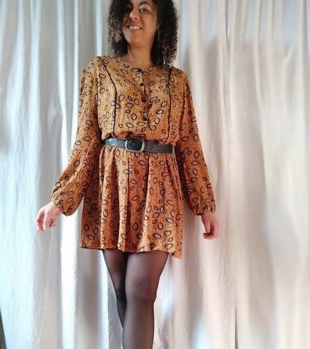 Makerist - Robe femme Ariane en tissu automnale  - Créations de couture - 1