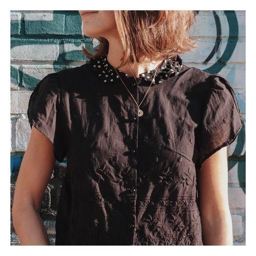 Makerist - CHEMISIER PAPILLOTE - DAMN GOOD CARAMEL - Créations de couture - 2