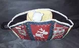 Makerist - Weihnachtskörbchen - 1