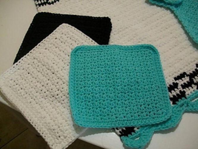 Makerist - Tea Towel Set - Crochet Showcase - 3