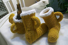 Makerist - Beer Slippers & MItt - 1