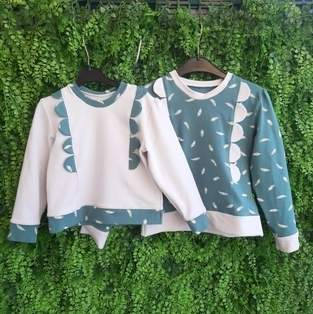 Duo sweat ysee en jersey