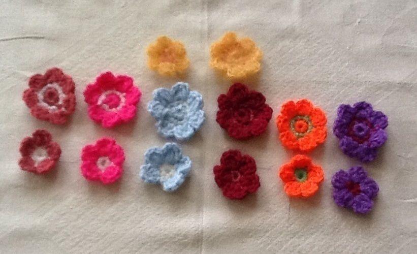 Makerist - kleine Häkelblüten - Häkelprojekte - 1