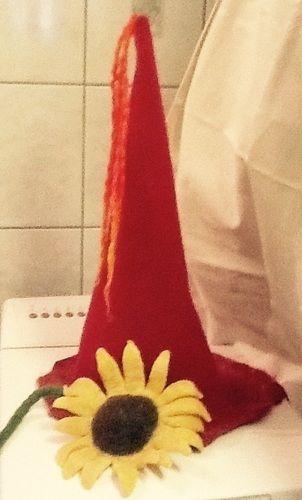 Makerist - Feenhut und  Sonnenblume  - Filzprojekte - 1