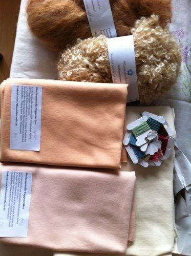 Makerist - Puppe mit Herz und Schafwolle - Nähprojekte - 3