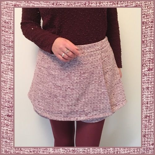 Makerist - Jupe short Rio en tweed - Créations de couture - 3