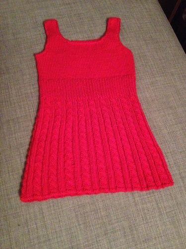 Makerist - Sommerkleid Größe 98 - Strickprojekte - 1