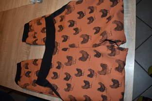 Bas de pyjama en jersey molletoné pour le cadeau de Noël de ma maman