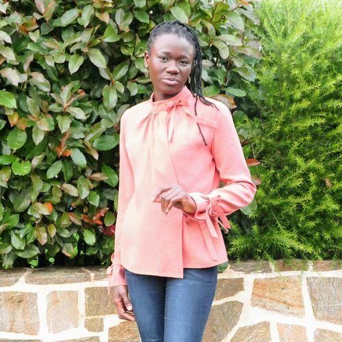 Makerist - Blouse Donna de CamiMade, cousue par @3petitslutins - Créations de couture - 1