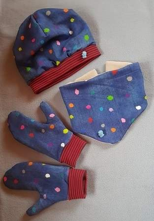 Makerist - Mütze, Schal und Handschuhe - 1