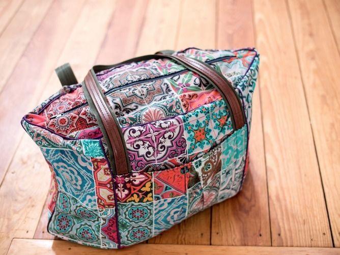 Makerist - Sechseckige Reisetasche - Nähprojekte - 2