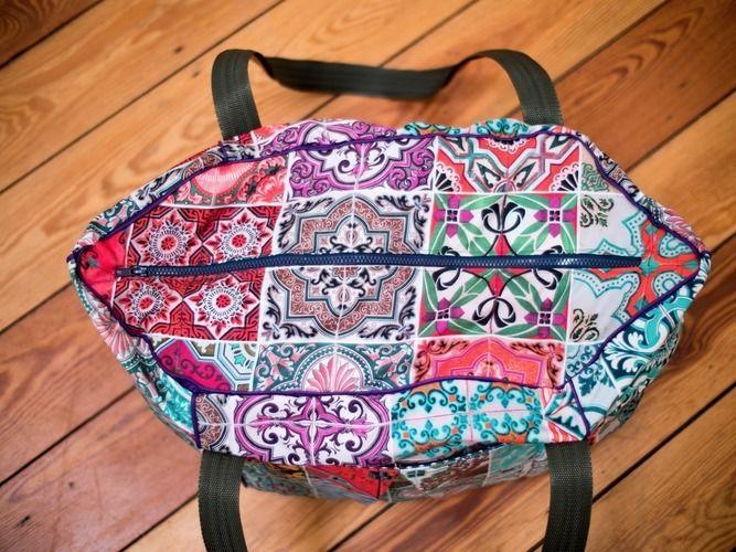 Makerist - Sechseckige Reisetasche - Nähprojekte - 3