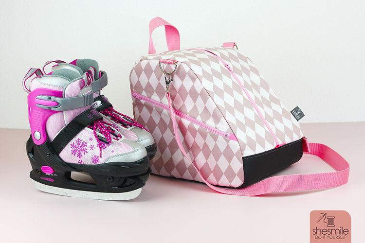 Makerist - Eine Schlittschuhtasche SusiSkates für meine Tochter nähen - Nähprojekte - 2
