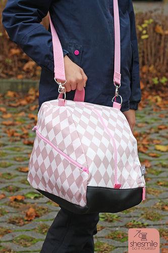 Makerist - Eine Schlittschuhtasche SusiSkates für meine Tochter nähen - Nähprojekte - 3