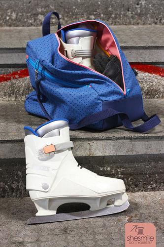 Makerist - Eine Schlittschuhtasche SusiSkates für mich! - Nähprojekte - 2