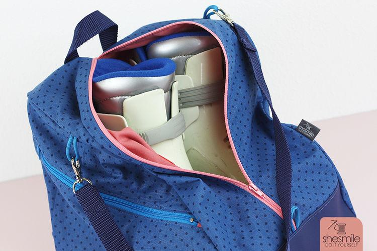 Makerist - Eine Schlittschuhtasche SusiSkates für mich! - Nähprojekte - 3