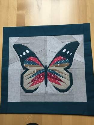 Makerist - Schmetterling - Paperpiecing  - 1