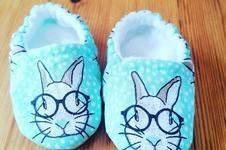 Makerist - Chaussons bébé sans coutures apparentes lapin - 1