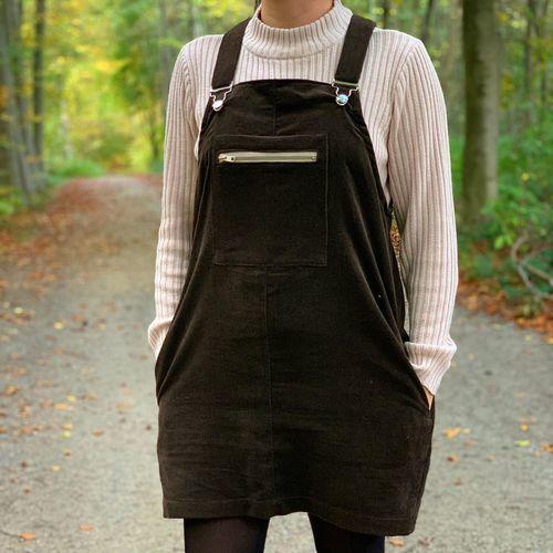 Makerist - Robe-Salopette en velours côtelé femme - Créations de couture - 1