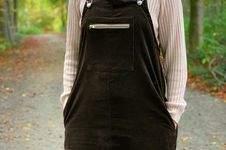 Makerist - Robe-Salopette en velours côtelé femme - 1