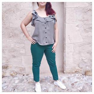 Makerist - Pantalon Écorce - 1