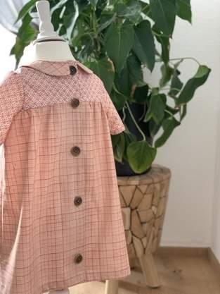 Ein Schnitt - viele Möglichkeiten. Kleid Peppa