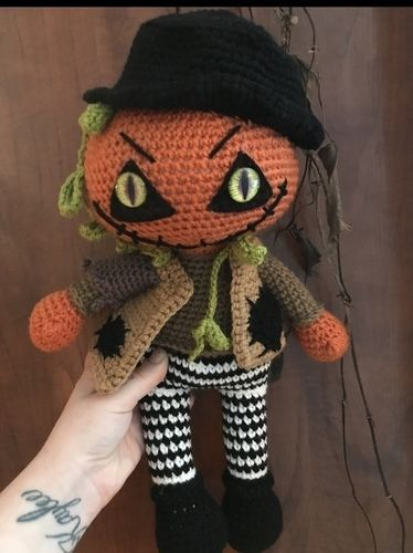Makerist - Crochet Pattern Jack the pumpkin  - Crochet Showcase - 1