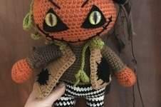 Makerist - Crochet Pattern Jack the pumpkin  - 1