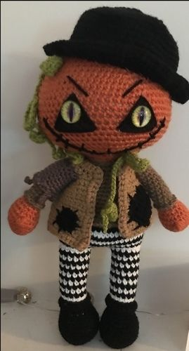 Makerist - Crochet Pattern Jack the pumpkin  - Crochet Showcase - 2