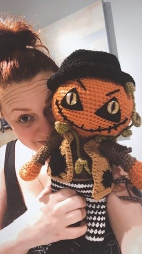 Makerist - Crochet Pattern Jack the pumpkin  - Crochet Showcase - 3