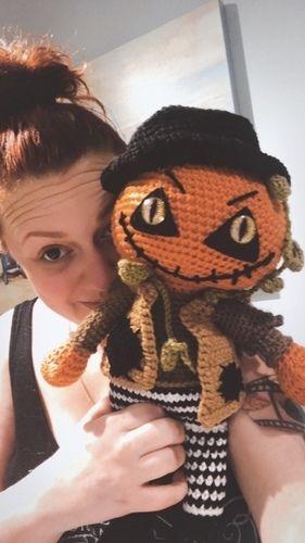 Makerist - Crochet Pattern Jack the pumpkin  - Crochet Showcase - 3
