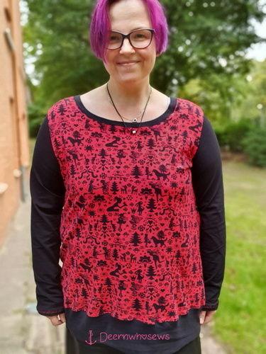 Makerist - Erna von Manjipuh - Größe 48 - ich LIEBE es - ob Kleid oder als Shirt, toller Allrounder, Lieblingsbasic - Nähprojekte - 1