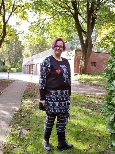 Makerist - Erna von Manjipuh - Größe 48 - ich LIEBE es - ob Kleid oder als Shirt, toller Allrounder, Lieblingsbasic - Nähprojekte - 2