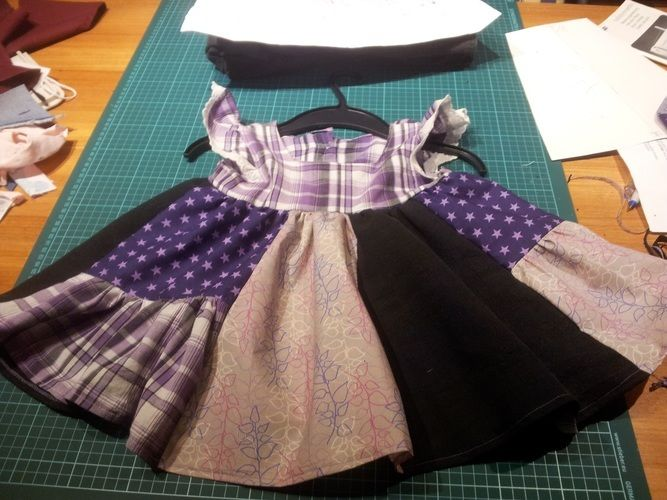 Makerist - Patchwork-Kleid - Nähprojekte - 1