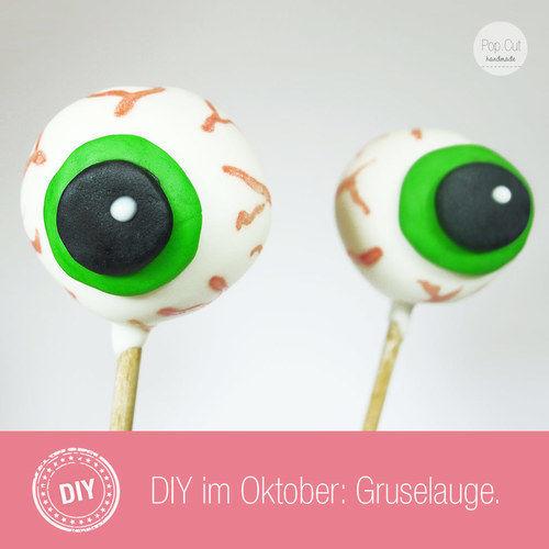 Makerist - Tutorial - Gruselaugen Cake Pops - Torten, Cake Pops und Cupcakes - 1