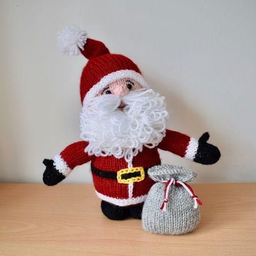 Makerist - Cuddly Santa - Knitting Showcase - 1