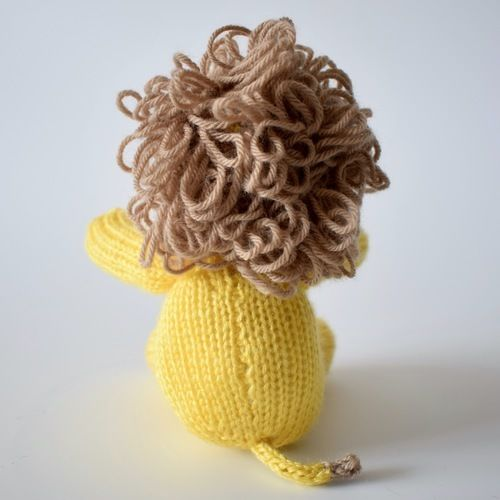 Makerist - Leon the Lion - Knitting Showcase - 3