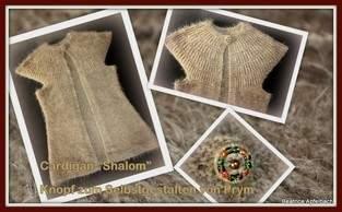 "Makerist - Cardigan ""Shalom"" mit Rundpasse - 1"