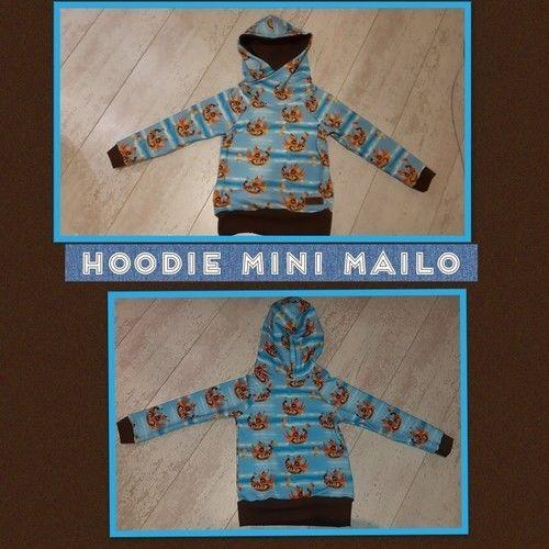 Makerist - Hoodie Mini Mailo - Nähprojekte - 1