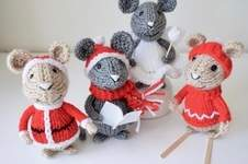 Makerist - Christmas Mice - 1