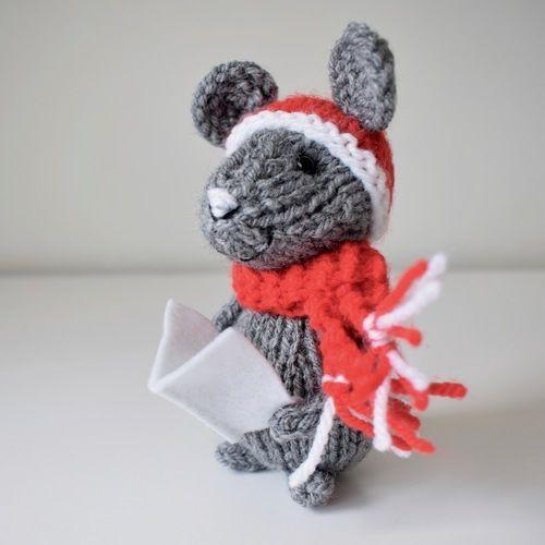 Makerist - Christmas Mice - Knitting Showcase - 3