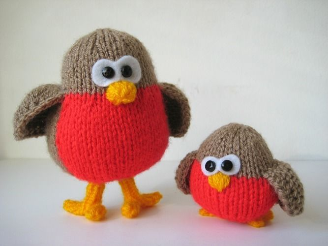 Makerist - Rockin Robins - Knitting Showcase - 1