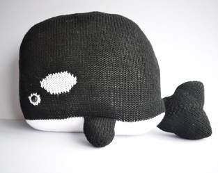Makerist - Orca Whale Cushion - 1