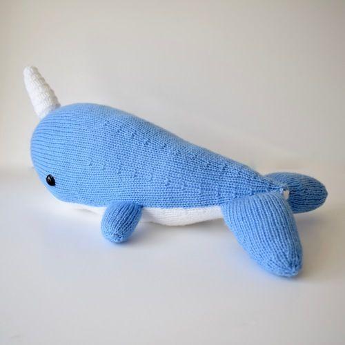 Makerist - Narwhal Toy - Knitting Showcase - 2