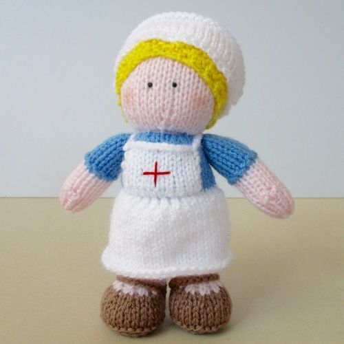 Makerist - Nurse Wendy - Knitting Showcase - 1