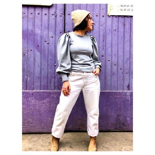 Makerist - hack de la blouse tasha de lenaline pattern - Créations de couture - 1